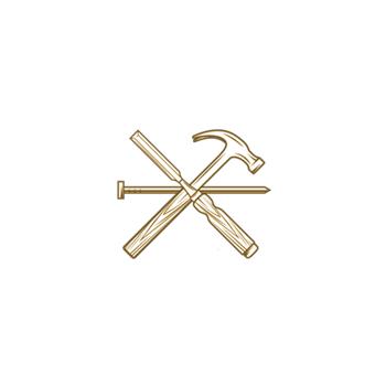 Helping Hands Handyman Logo